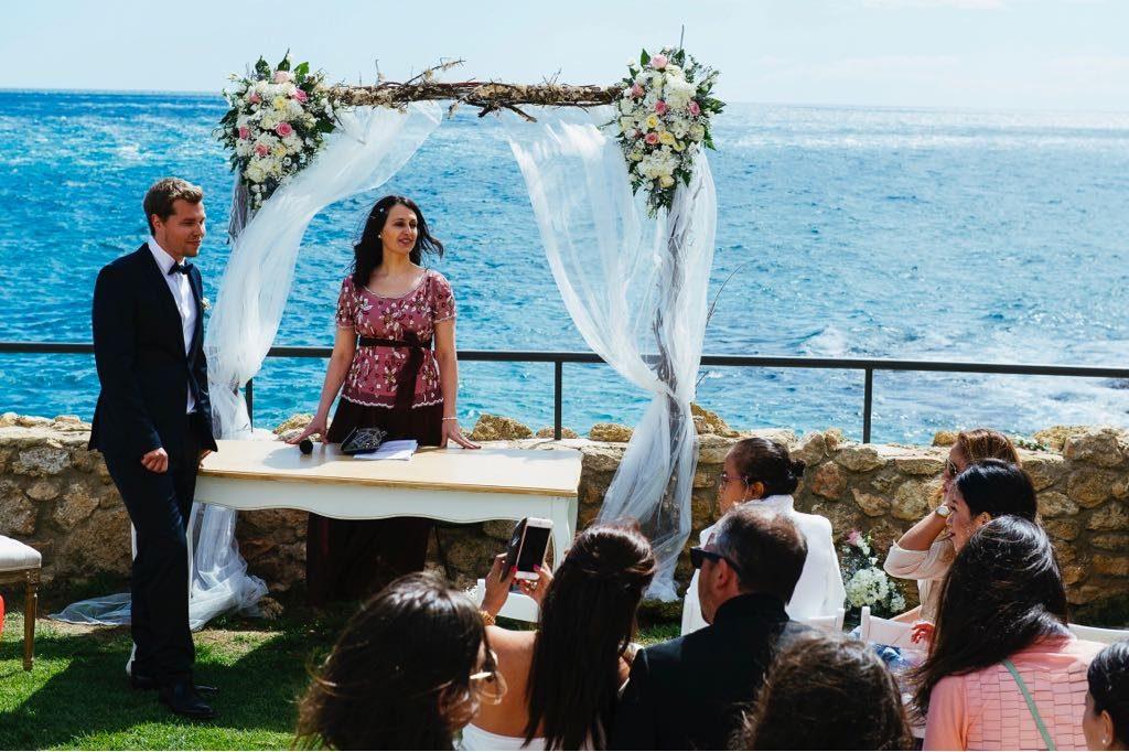 ceremonia de boda simbólica en alemán y español